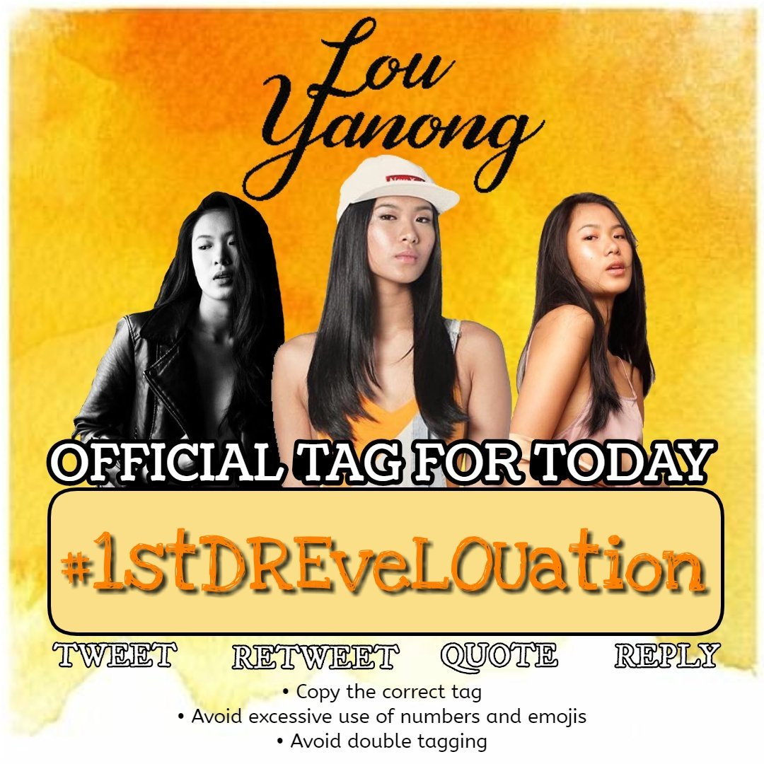 HT FOR LOUDRE  Join us! Let's tweet:  #1stDREveLOUation | LouYanong  REMEMBER:  Don't use emojis and numbers  Retweet every tweet you see that includes our tag line and hashtag  Make your account public <br>http://pic.twitter.com/cpQFu9oXU6