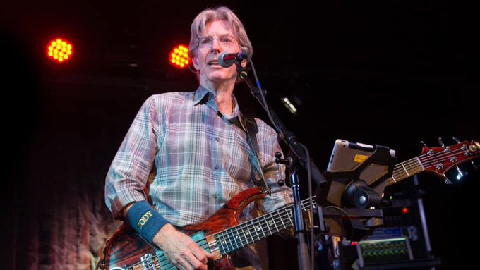 Happy Birthday Phil Lesh, bassist for Grateful Dead 3/15/1940.