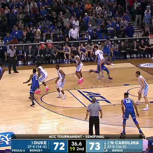 Zion just willed this into the bucket �� https://t.co/G4FESRoKTU