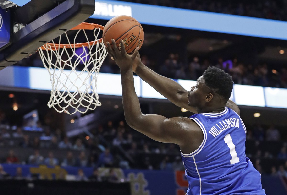TSN's photo on Zion Williamson