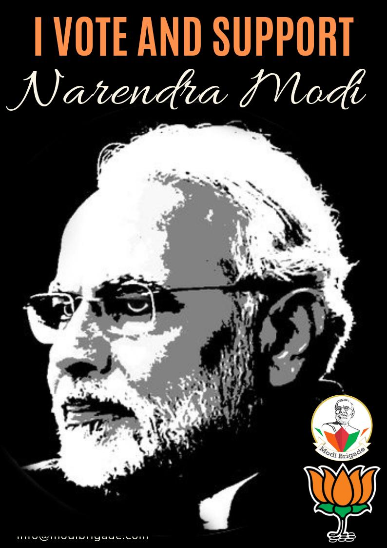 #DeshRakshakModi #MyVote4Modi #MyVoteForIndia Every vote is a building block for a better democracy. So let us step up and vote for building a #NewIndia with PM @narendramodi ! @PMOIndia @Ramesh_BJP @nishants79 @RidhimaTripath4 @KailashOnline @NaMo_Phani @GauravModified @AB_BJP<br>http://pic.twitter.com/NSqIalnZQI