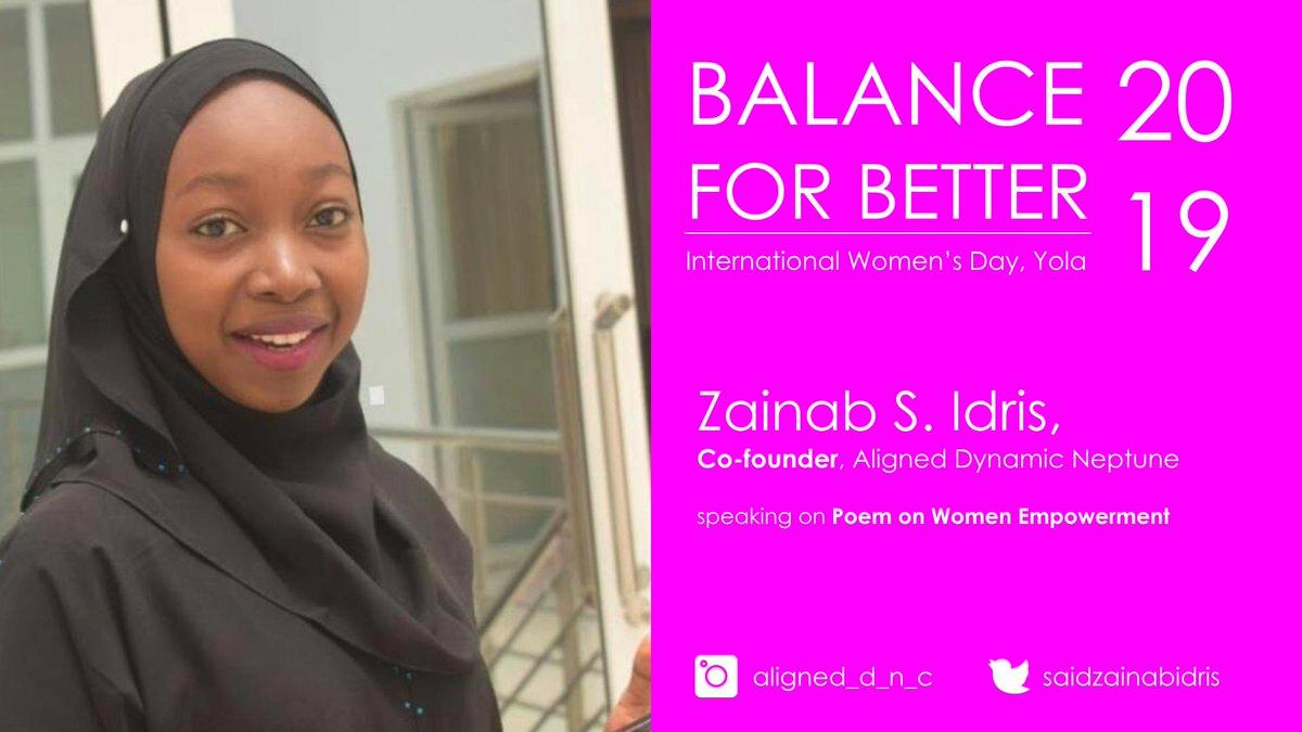 Honoured to have @SaidZainabIdris  speak on women empowerment at our #InternationalWomensDay <br>http://pic.twitter.com/m1dSkILPBB