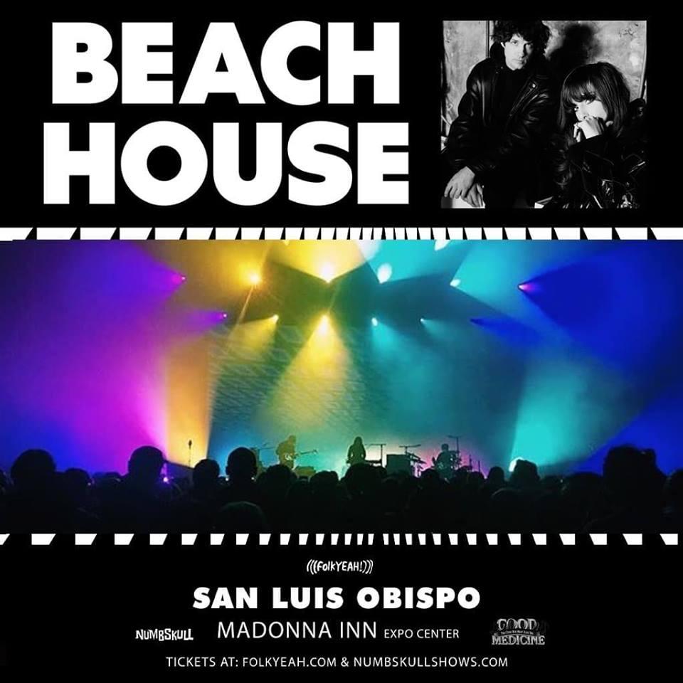 .@BeaccchHoussse April 30, 2019 Historic @MadonnaInn San Luis Obispo Tickets: folkYEAH.com