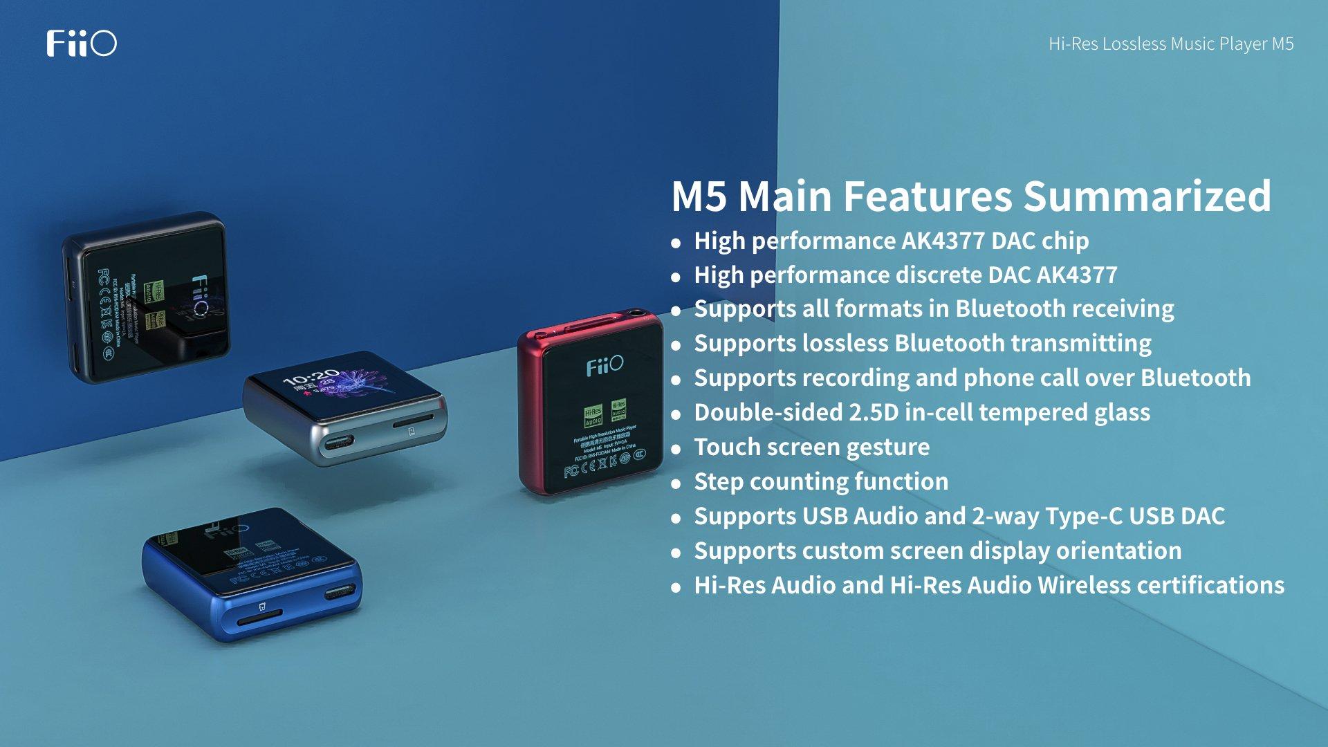 FiiO announces the Q5s DAC/AMP ($350), AM3D Amp module ($150