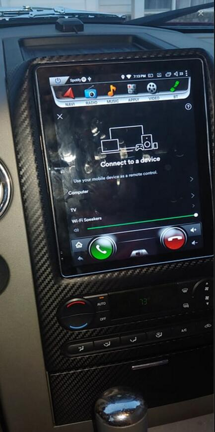 2007 ford f150 stereo install
