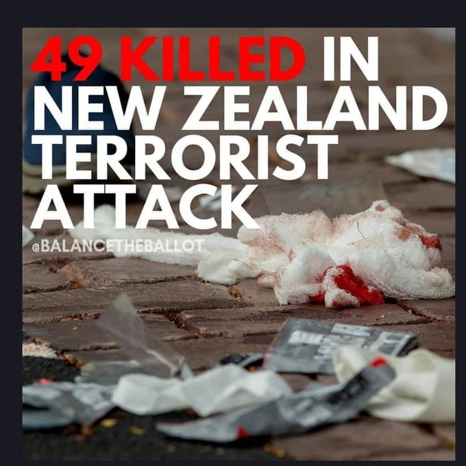 #prayfornewzealand Photo