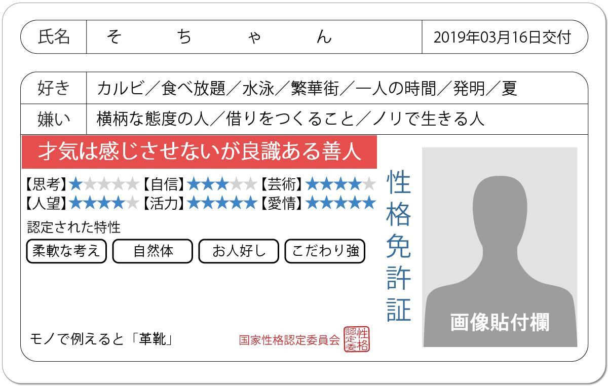 崎乃奏音(さきの そと)'s photo on #免許証の診断