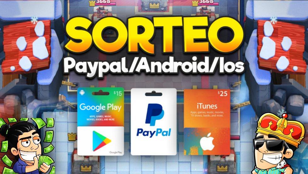 🤑⚠️ SORTEO! 2 TARJETAS DE 200$  ANDROID/APPLE/PAYPAL!⚠️🤑  REQUISITOS! ⚠️🐵 SEGUIR A @xS4NDOV4Lx 🤤 SEGUIRME A MI @Rockstar_YT 🤪 SUSCRIBIRSE A MI CANAL http://WWW.YOUTUBE.COM/ROCKSTARCR 🤩 DAR RT Y MG! ❤️🔁  FINALIZA EL 22 DE MARZO! 🥳