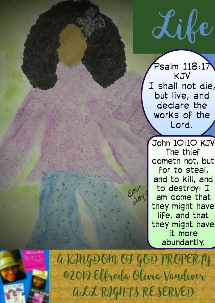 FredaVandiver Psalm 118:17 KJV I shall not die, but #live, and