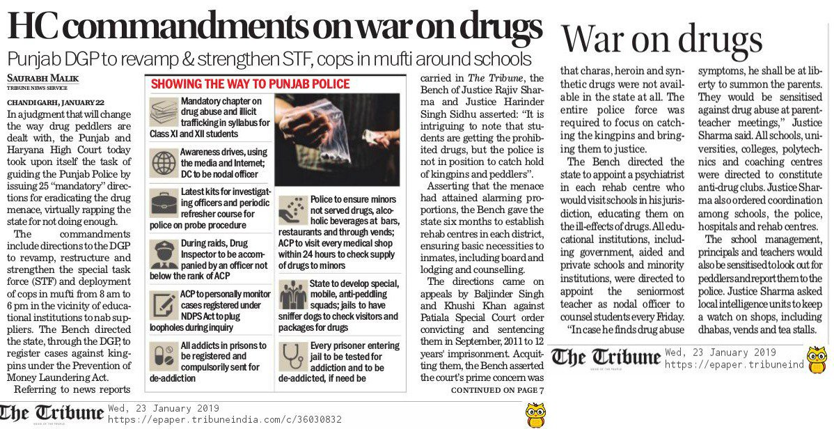 If the Congress government had fulfilled its promises, the youth of Punjab would not have been dying because of drug overdose. #VishwasghaatDivas <br>http://pic.twitter.com/ROqwh2HMn0