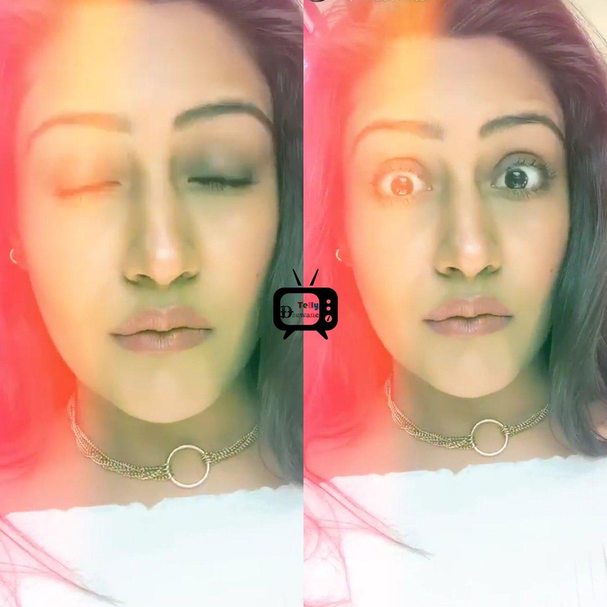One Word For Expression Queen @SurbhiChandna    #SurbhiChandna #Annika  #khidkitodanika #scians #Shivika #TellyDeewane #ShivikaKaIshqbaaaz  @TellyDeewane<br>http://pic.twitter.com/yTzQjJOoEp