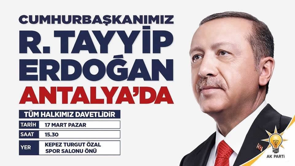 Milletin adamı geliyor. @RT_Erdogan