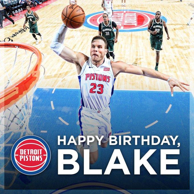 Blake Griffin, Happy 30th Birthday   Reggie Bullock, Happy 28th Birthday