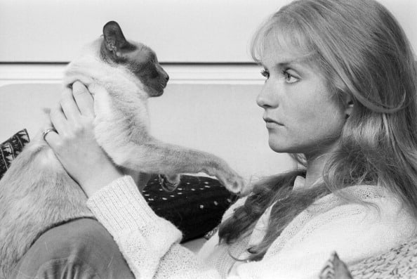 Happy birthday to Isabelle Huppert, lover of cats: