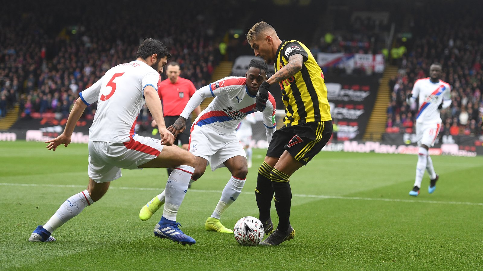 Watford FC 2-1 Crystal Palace - FA Cup - Quarter Final - 16 March 2-10