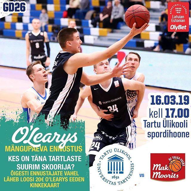 test Twitter Media - Teine laupäev järjest saab Tartu Ülikooli spordihoones korvpallile kaasa elada. Täna on vastas BC Valga-Valka/Maks&Moorits ja pall pannakse mängu kell 17.00. Kui oled ka võrkpallihuviline, siis juba kell 13.00 mängib Tartu Ülikool/Bigbank võrkpallinaisko… https://t.co/6OQiH52esP https://t.co/VRzNWkuu6q