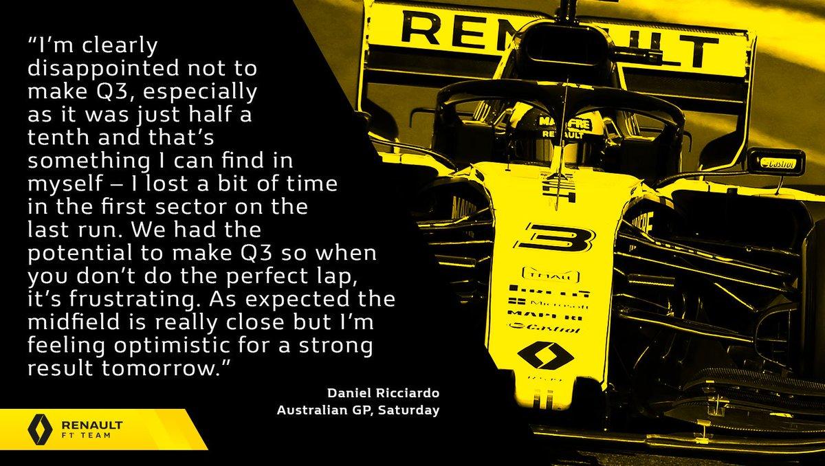 Renault F1 Team's photo on Good Saturday