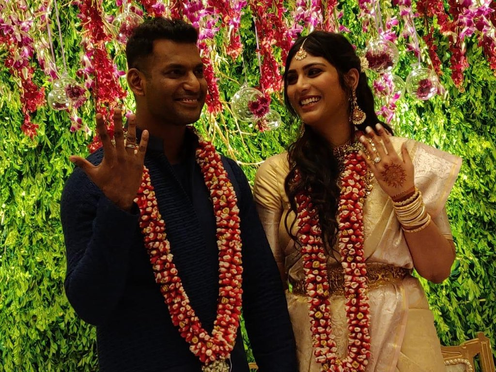 Congratulations to Vishal & Anisha on their engagement