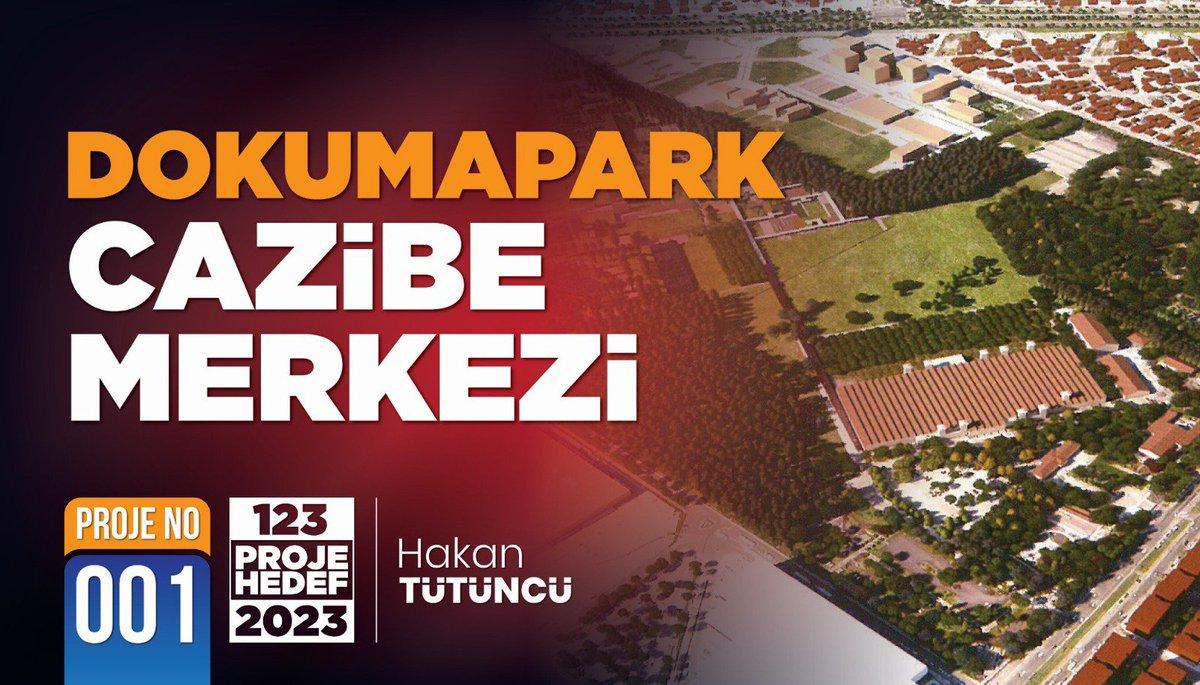 DOKUMA'YI HALKIMIZA KAZANDIRDIK, ŞİMDİ DOKUMAPARK DEĞER KAZANACAK  Büyük uğraşlarla halkımıza kazandırarak kültür sanatın, müzelerin, eğlencenin, festivallerin kalbi yaptığımız Dokuma arazisini yeni dönemde, Türkiye'de eşi benzeri olmayan bir yaşam alanına dönüştüreceğiz.