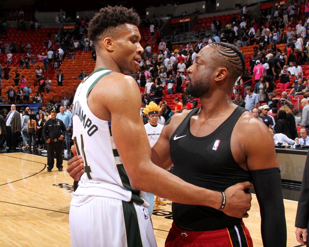Giannis  x  D-Wade   #ThisIsWhyWePlay <br>http://pic.twitter.com/rbCRVqd6rT