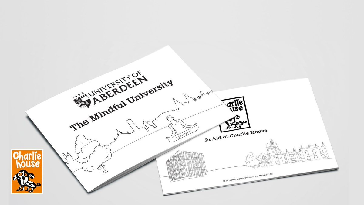 If you fancy a bit of adult colouring-in and want a short guide to the University's campus, then pick up one of these Mindful University booklets for £3! All proceeds go to the Charlie House Big Build project. Selling in the Union tomorrow 12-2pm! 👍 http://bit.ly/2J9vhQV