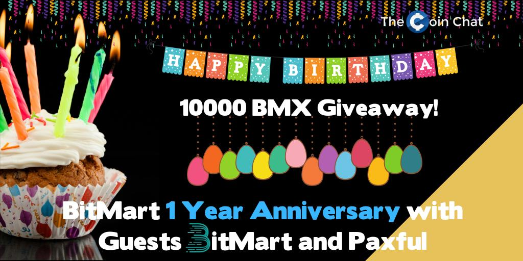🤗🤗 Check it out on how to win 10,000 BMX!!! Subscribe to @TheCoinChat's YouTube channel & comment 'I WANT TO #WIN'. Join Now: https://t.co/dGnNXBAfzt  #BitMart $BMX #Giveaway #TheCoinChat #paxful