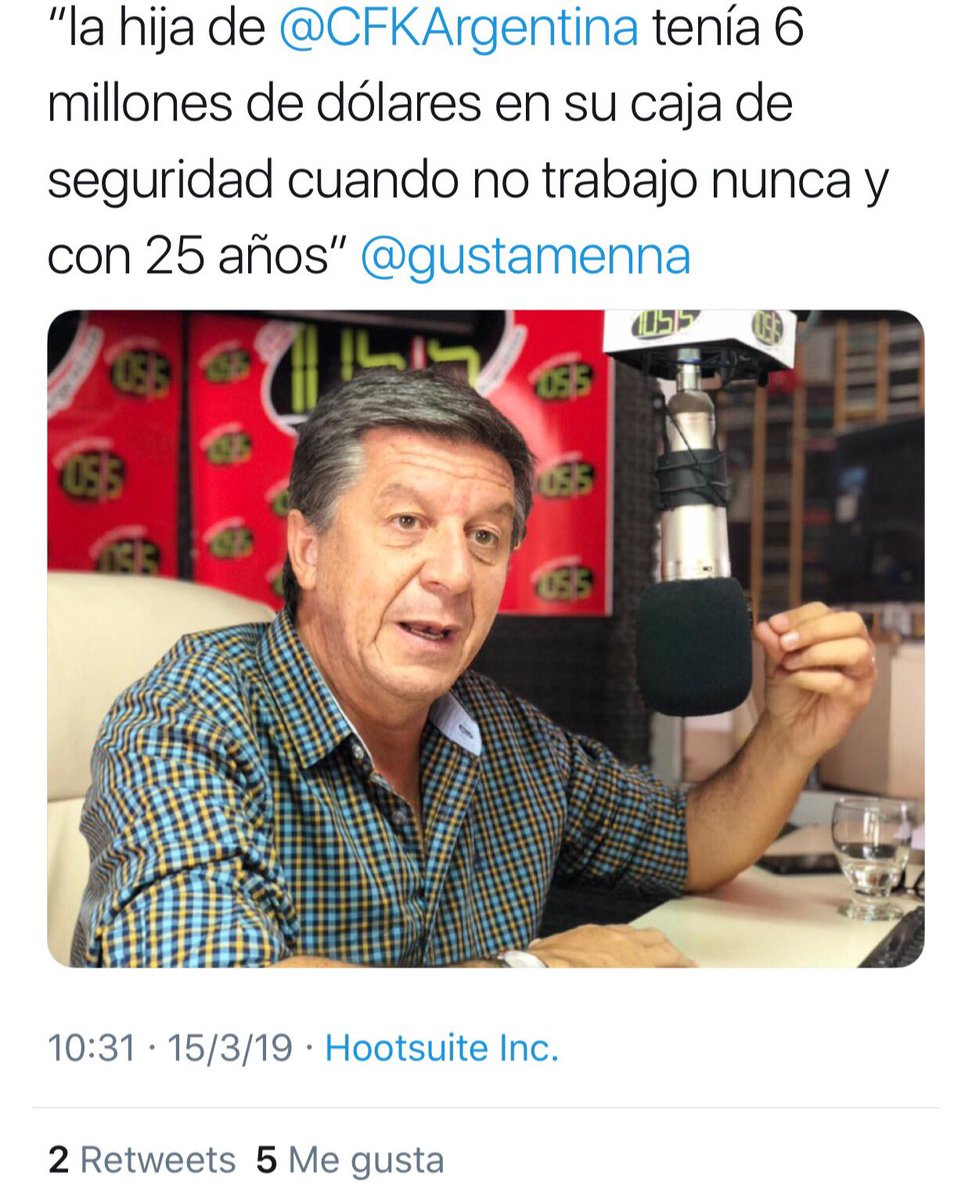 Igon Santiago's photo on #FuerzaCristina