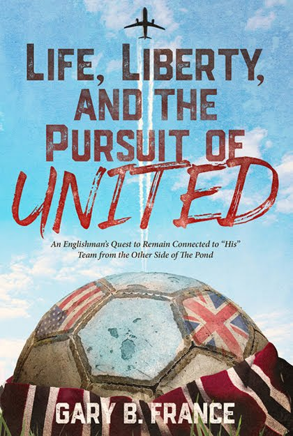 """Strong thread in my book is that of my ties with my father . .  So many """"transatlantic phone calls"""" back in the day.  He's 85 now. Today I'm back at his remote Scottish cottage to watch #WOLMUN #FACup  A father n son re 'United' 😉 @ManUtd #mufc #lifelibertyandthepursuitofunited"""