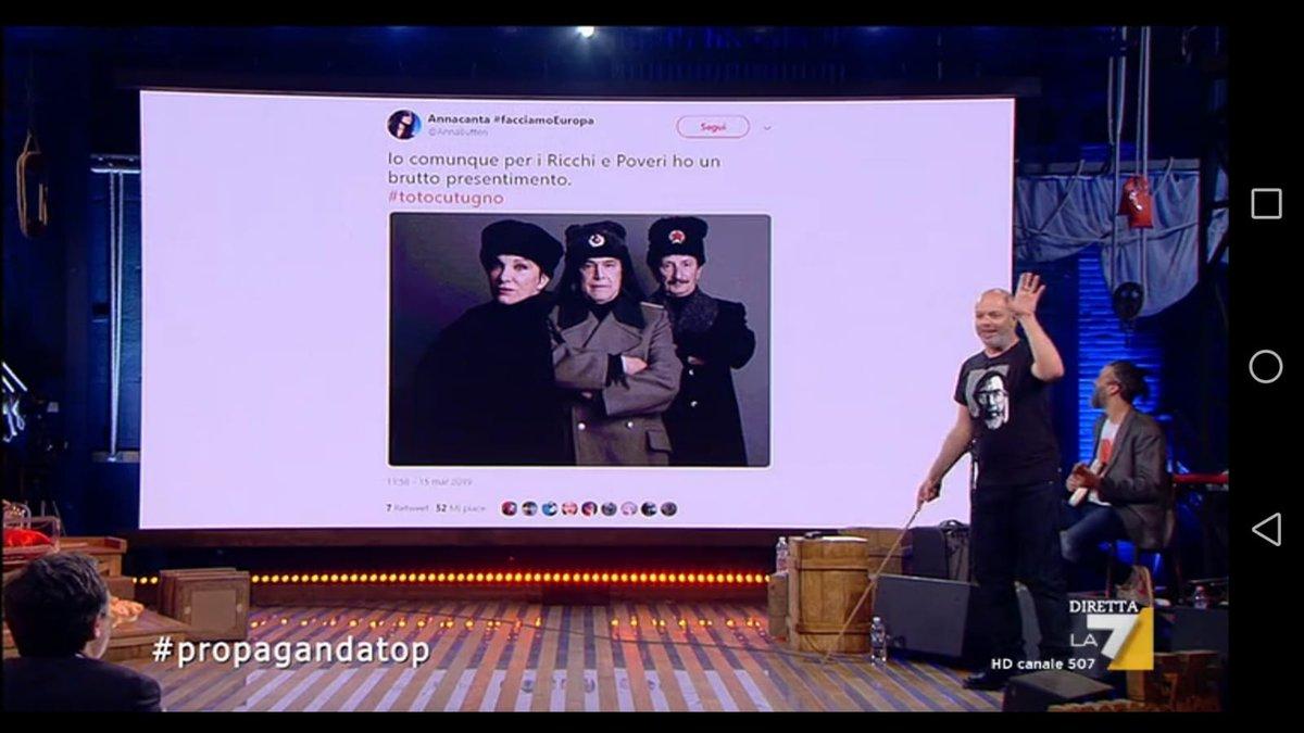 Annacanta #facciamoEuropa's photo on #propagandalive