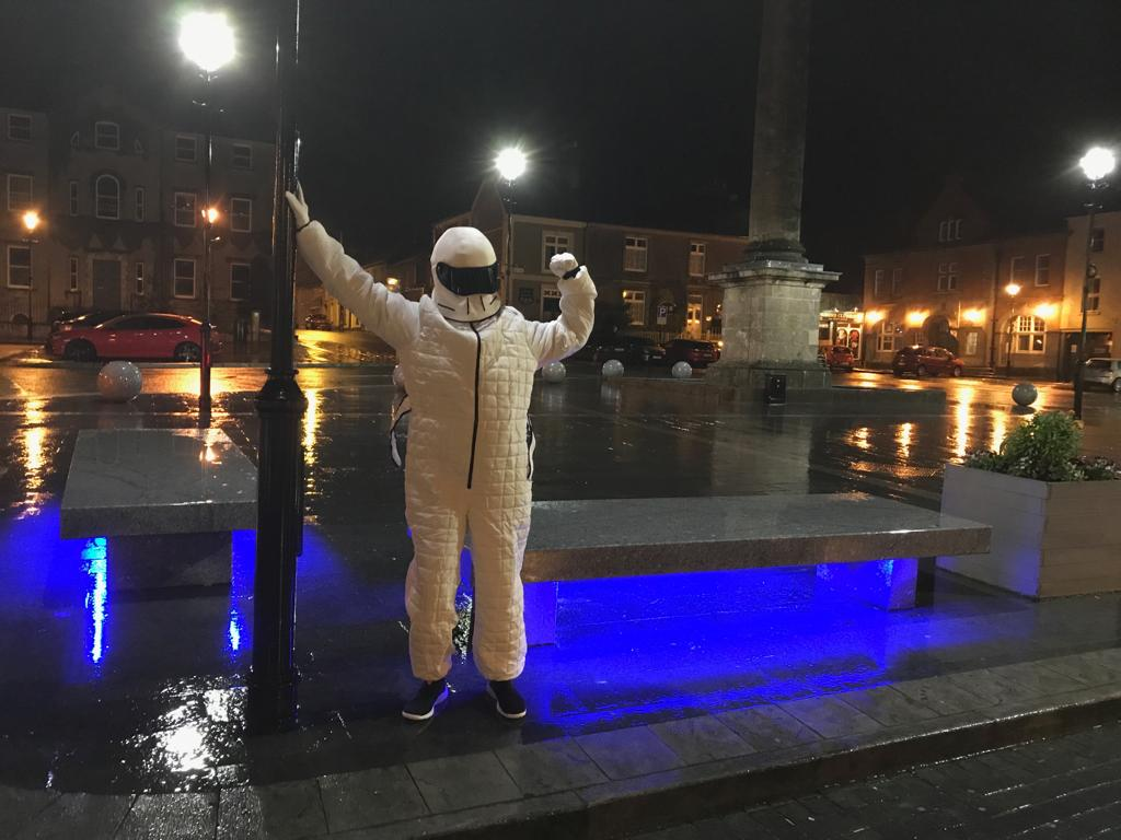 Marty Ryan On Twitter The Drumcullen Stig Was Let Loose In Birr Last Night At The Launch Of I M A Celebrity Get Me Out Of Here A Great Night In The Fighting