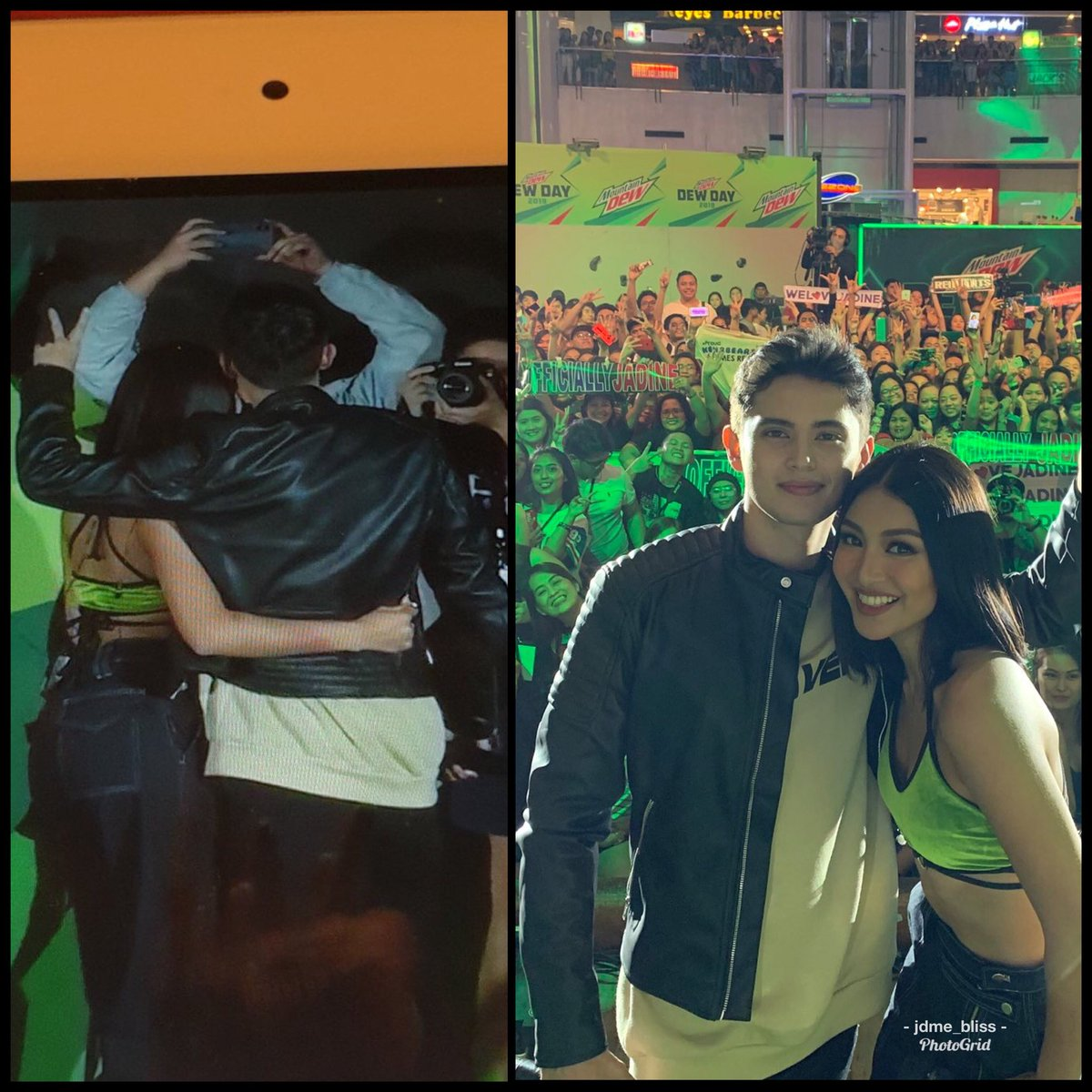 Back view and front view the president with the first gentleman!  mountaindewph/jadineleto  #DewDay <br>http://pic.twitter.com/g1NHhZ0TDU