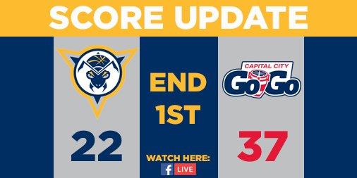End 1st | Mad Ants 22, Go-Go 37 @EdmondSumner with 7 points and 2 rebounds #MadAboutBlue