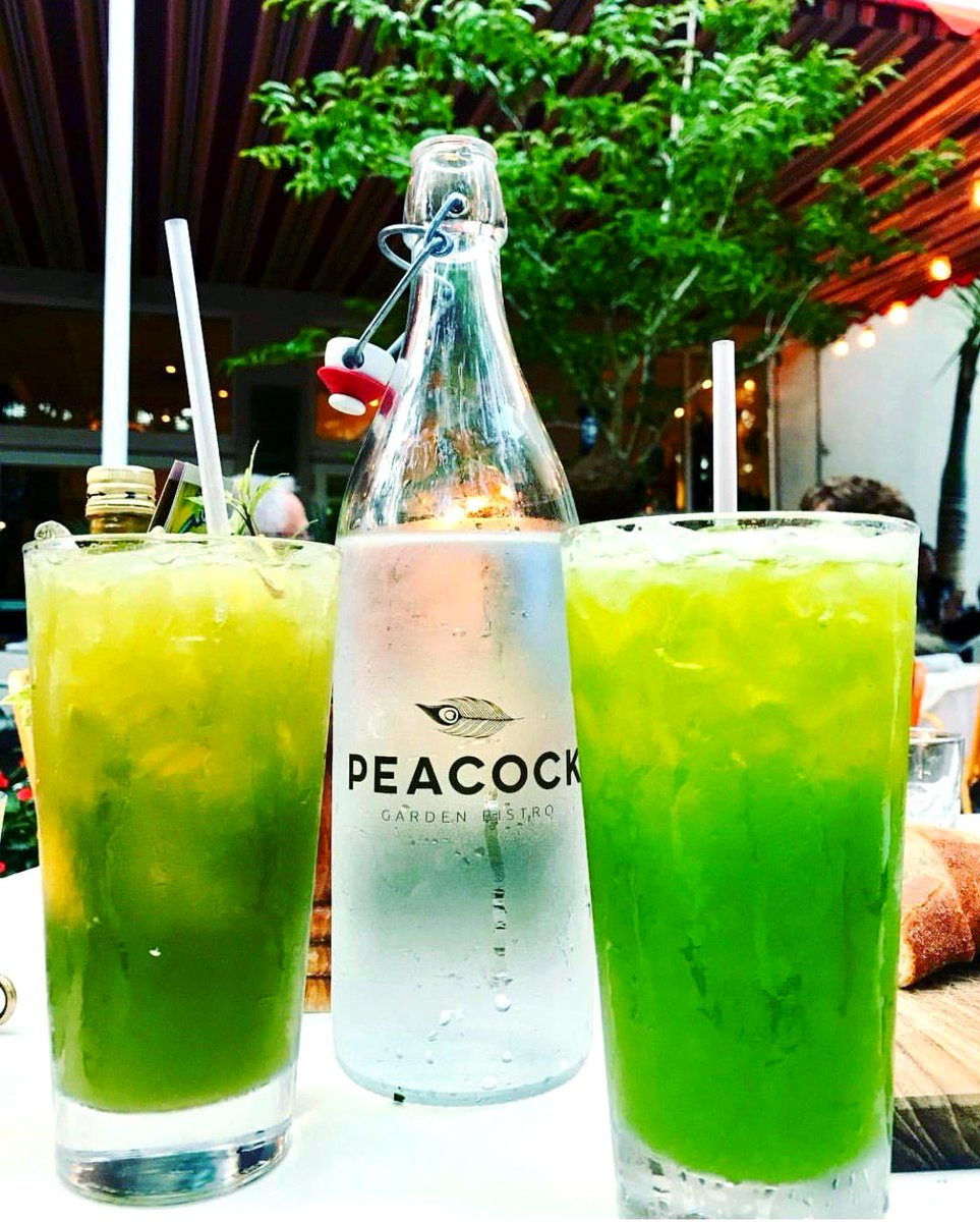 Sit back and sip on a refreshing drink at Peacock Garden Bistro #PeacockGardenBistro #Refreshing #Relax #Miami #CoralGables #CoconutGrove