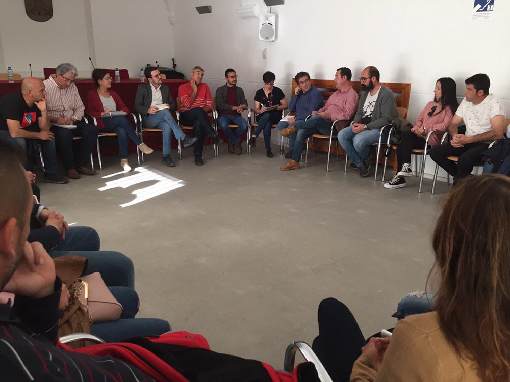 Ayer fue un día de trabajo intenso, gracias por la visita a #Extremadura @sirarego y @garzon . Gracias a todas las personas que nos acompañaron a lo largo del día, especialmente a las asambleas de @iu_ppi_Miajadas y @IUmerida .