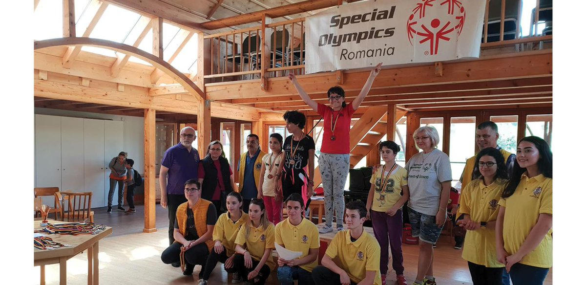 test Twitter Media - Lions and Leos are at the Special Olympics #AbuDhabi2019 & Global Youth Leadership Summit to #innovateforinclusion! Here's a story about how Leos, Lions and Special Olympics are partnering are working together in Romania ➡ https://t.co/3OeBLqHAkU https://t.co/D9sNfigfaj