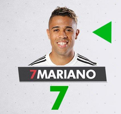 82' 🔁 Cambio. Sale Benzema y entra marianodiaz7.  #RMLiga
