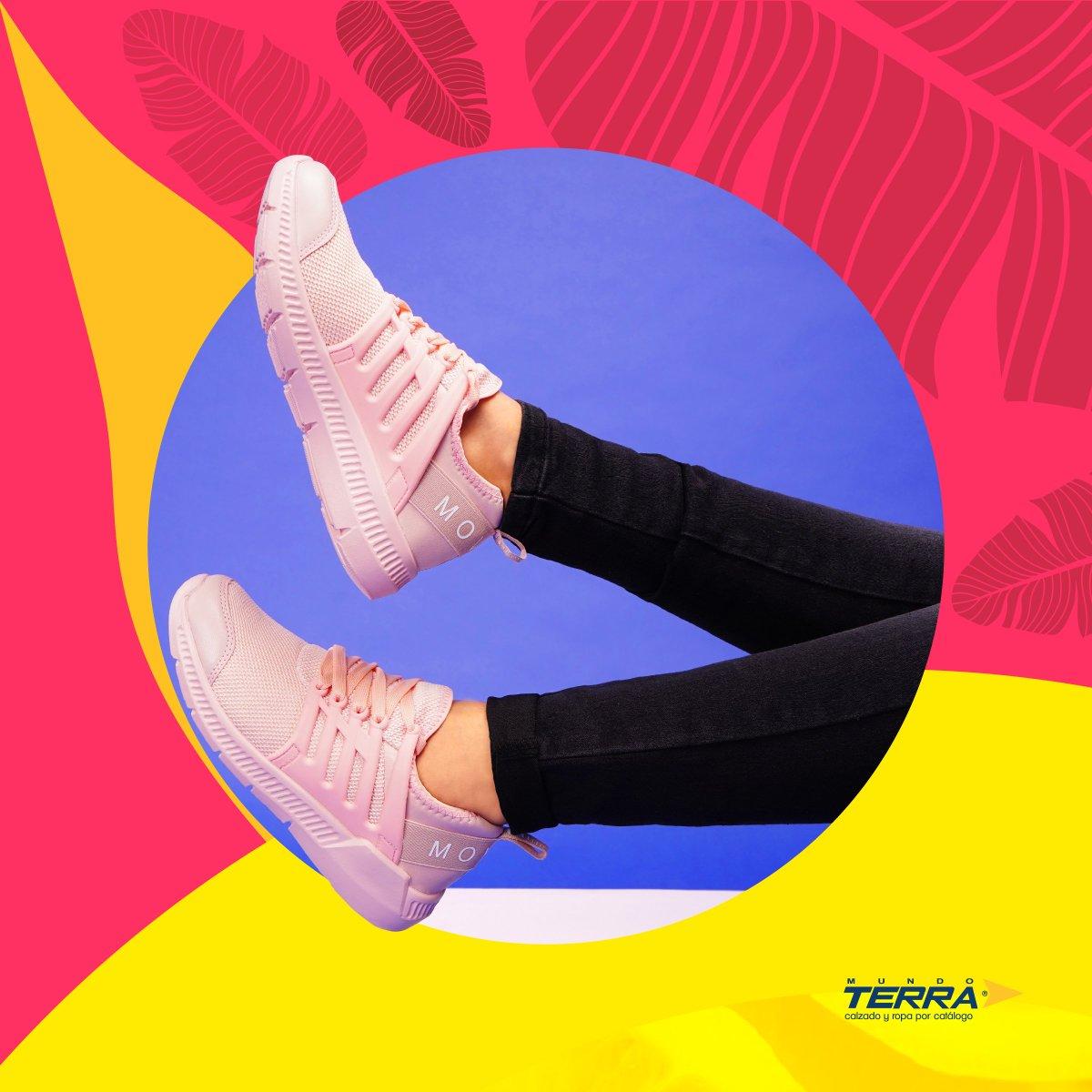 Atrévete a descubrir tu lado más loco con un estilo urbano.   #mundoterra #shoes #tenis #shoeslover https://t.co/JonHa5ZOhm