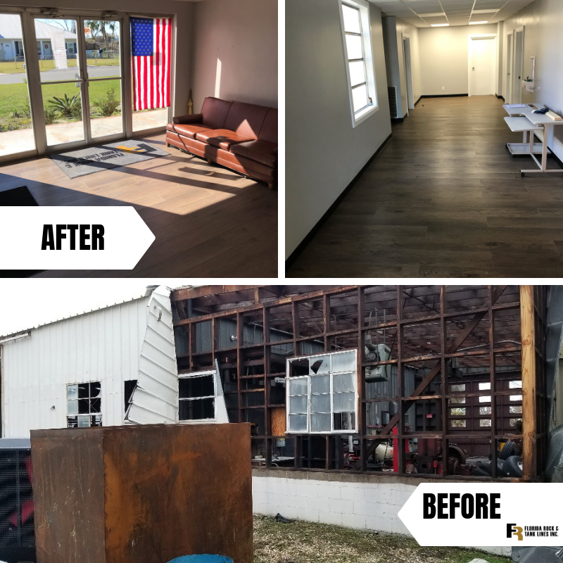 Last year our Panama City Terminal was greatly affected by #HurricaneMichael. Check out our before/after terminal renovations.   Our thoughts and prayers are still with our employees and customers in the #FloridaPanhandle and South Georgia who are still recovering! <br>http://pic.twitter.com/bP50T16CAO
