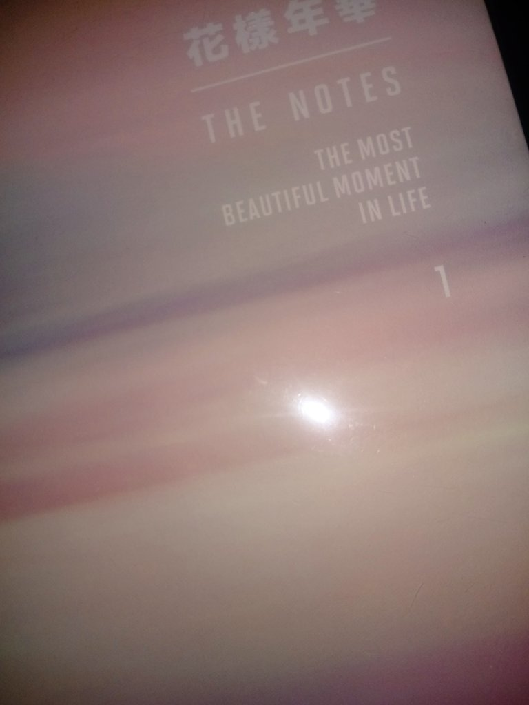 Maybe I&#39;m the only one who didn&#39;t notice this, but it says 1..... Does that means that they will release more Books like this? :O #thenotes #themostbeautifulmomentinlife #TeamBTS #TwitterBestFandom<br>http://pic.twitter.com/gCuV8sBbo5