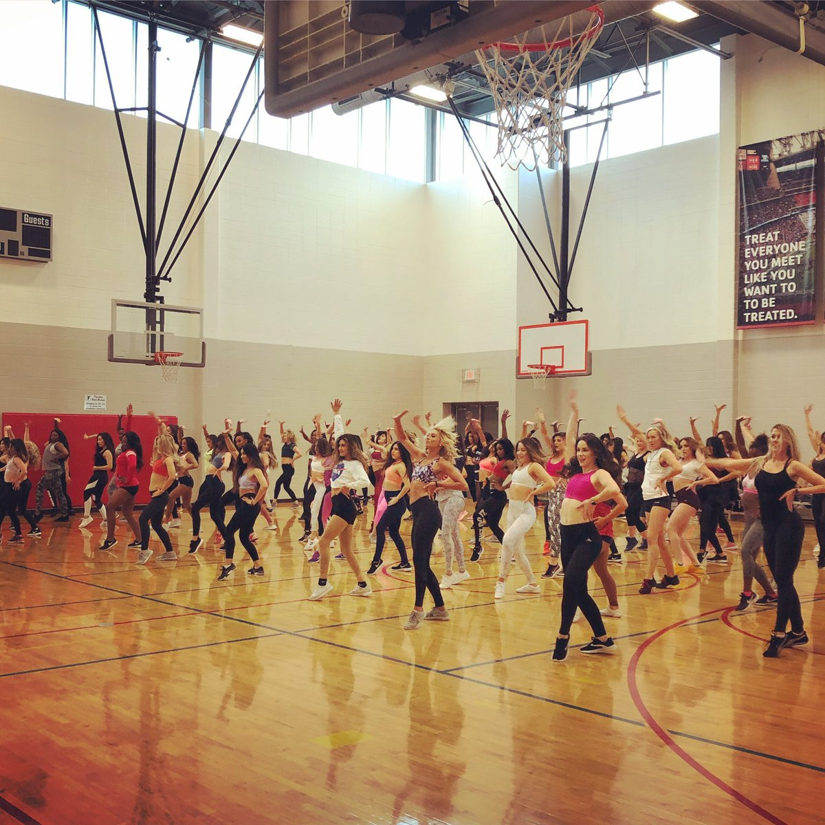 The final #HTCtryouts2019 Prep Class was 🔥🔥🔥 Thanks for dancing with us this morning!