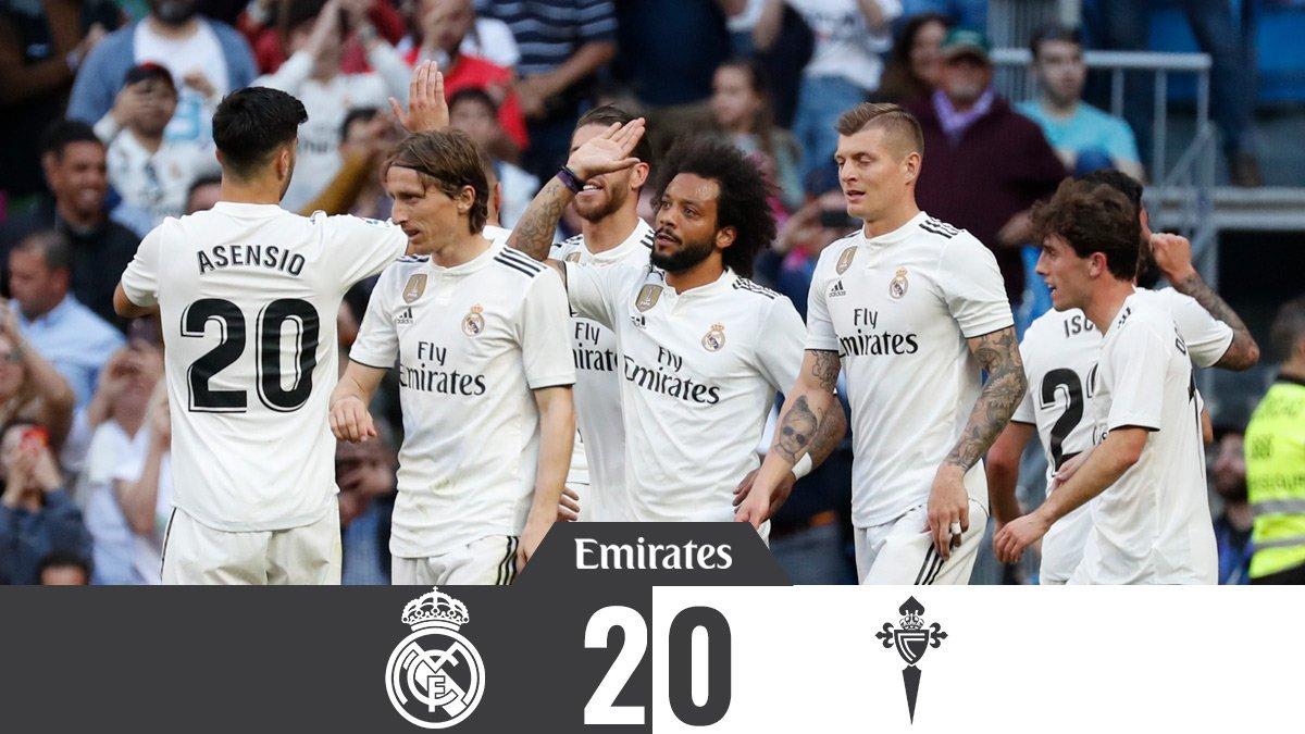 Peña Real Madrid de Indonesia's photo on Celta de Vigo