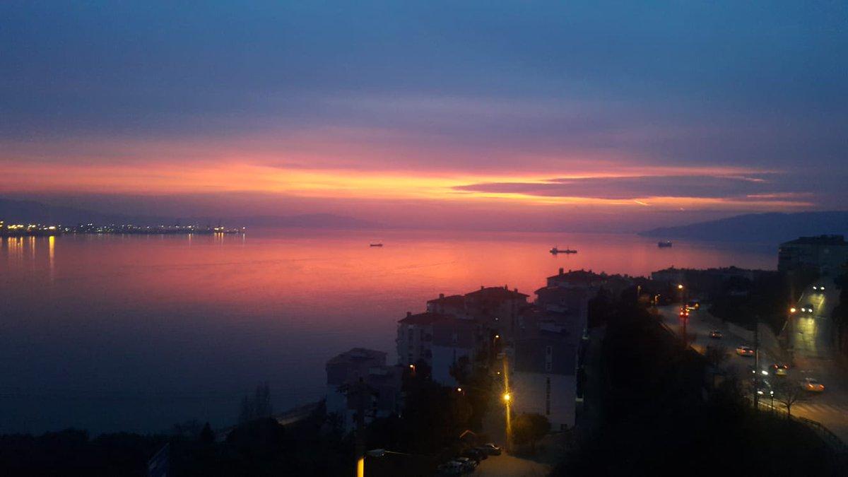 Sunset in Turkey... #SaturdayThoughts  #SaturdayMotivation
