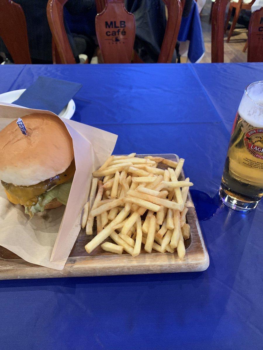 久しぶりにMLBカフェに行ってきた 料理美味しかった😊 #東京ドーム  #MLB  #MLBカフェ