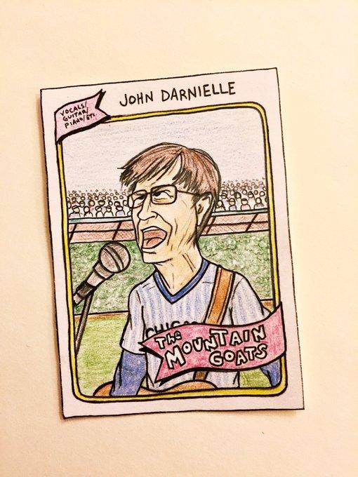 Happy birthday to John Darnielle of the Mountain Goats!