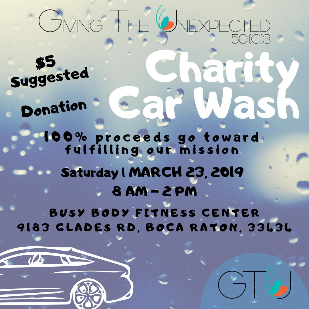 Car Wash Boca Raton >> Gtu Non Profit On Twitter Join Us On March 23st From 8 2