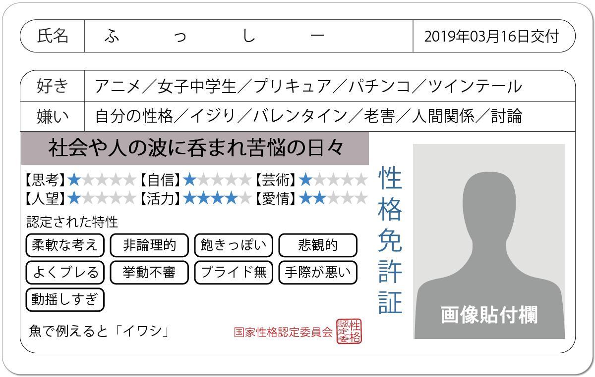 ふっしー(´・ω・`)'s photo on #免許証の診断