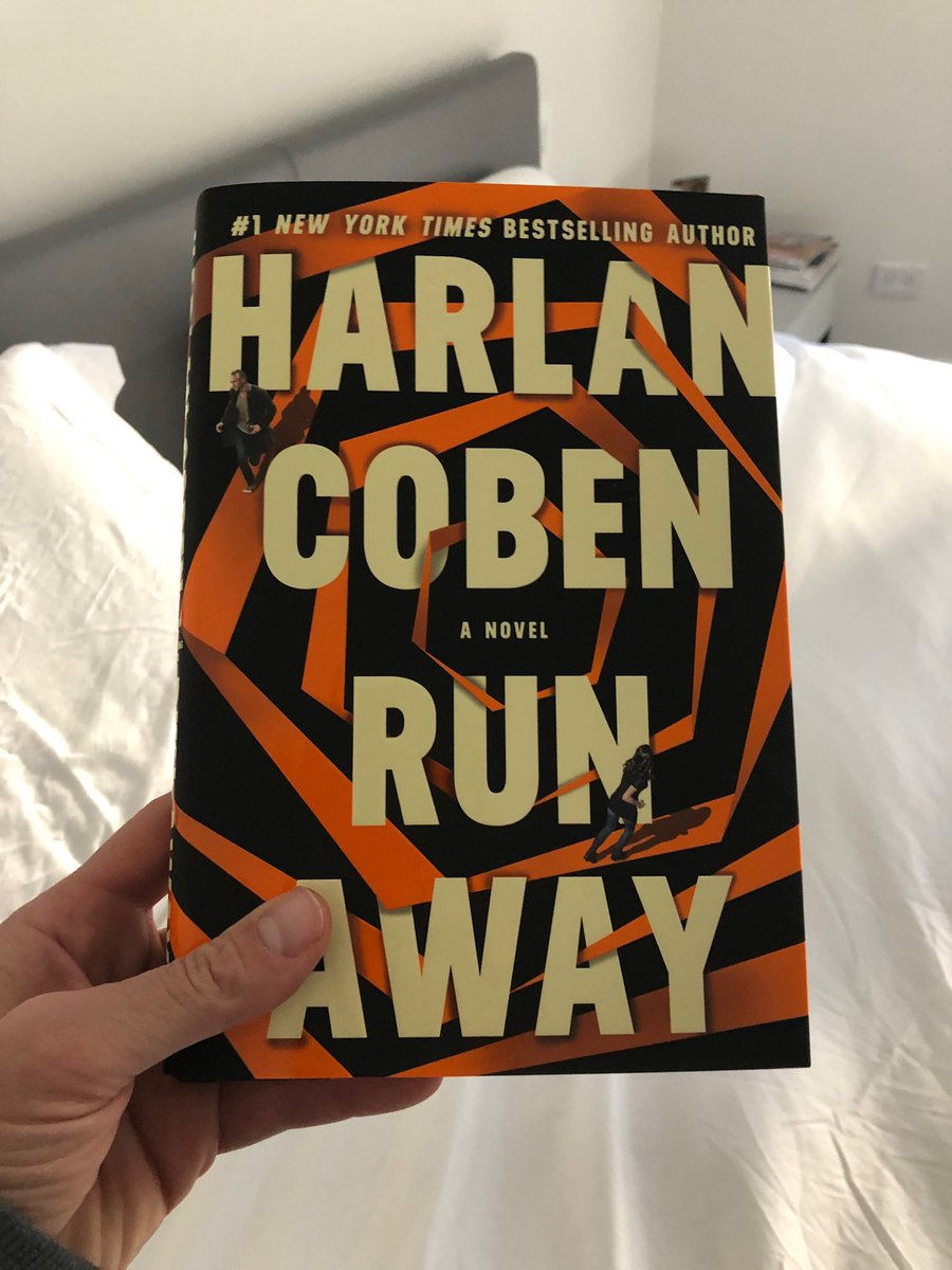 Look what just came in the mail! Can't wait. @HarlanCoben is the most readable writer of thrillers we have.