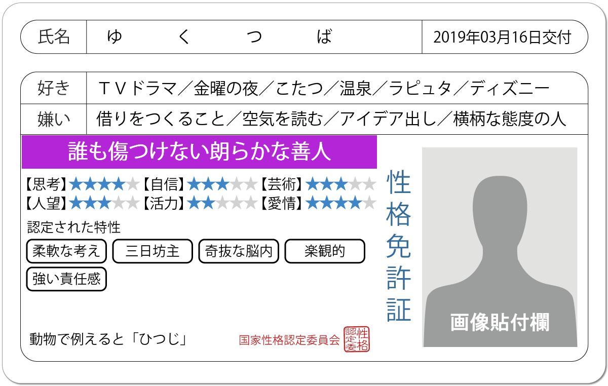 ゆくつば/4.27本丸併せ's photo on #免許証の診断