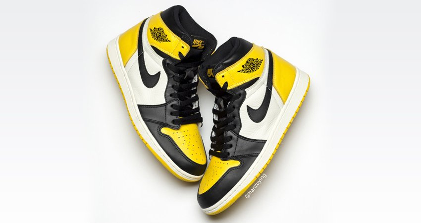 7b1e3a07776e3d The Air Jordan 1 Yellow Toe Is In Highest Discussion To Release This Summer  https