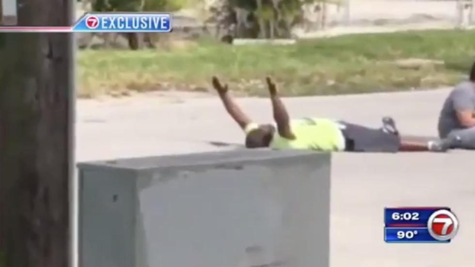 Jury deadlocks on officer who shot unarmed caretaker with autistic man http://hill.cm/ZSbww3y